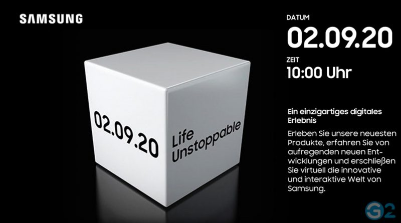 Samsung IFA Unpacked Event