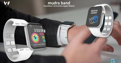 Mudra Band 4 Apple Watch
