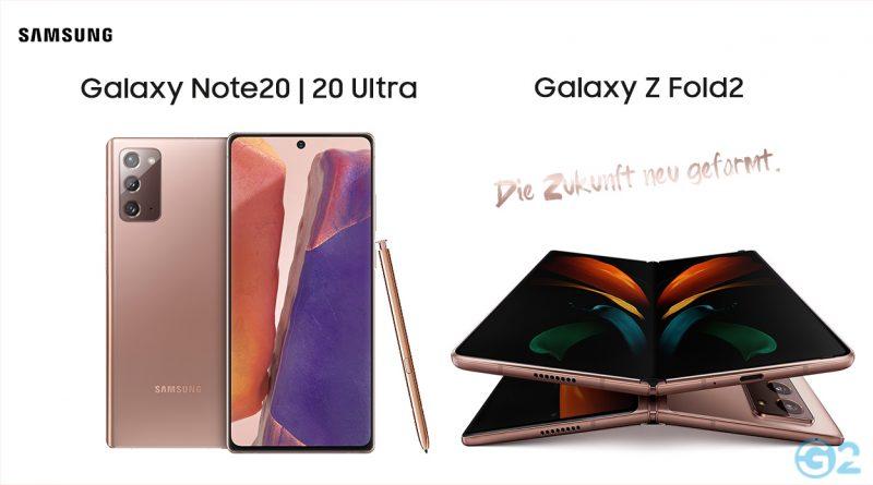 Samsung Galaxy Note 20 Ultra und das Z Fold2