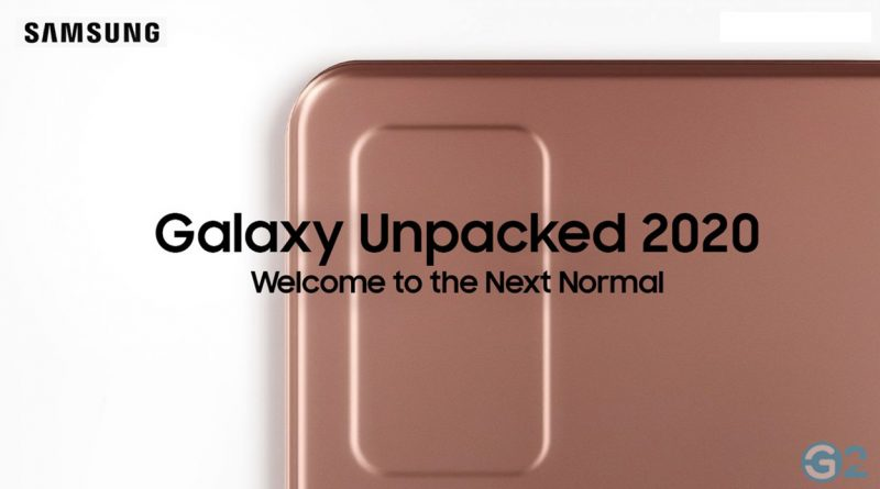 Samsung Galaxy Unpacked-Event 2020