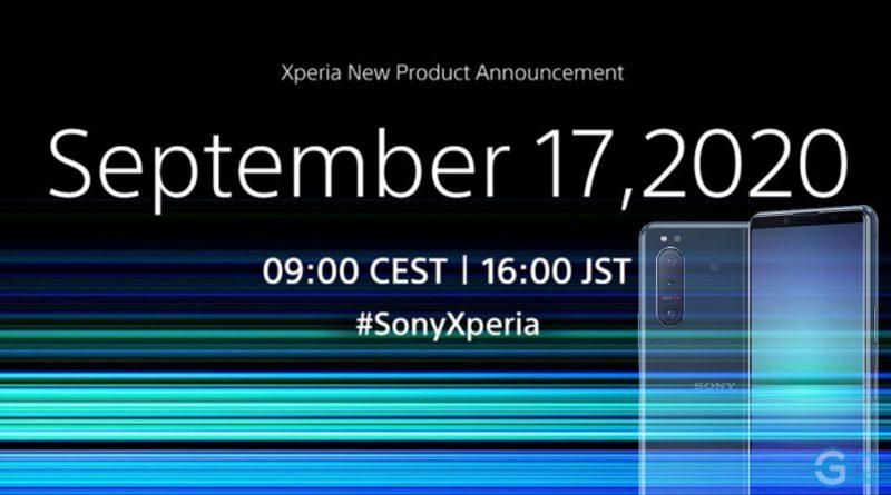 Sony Xperia 5 II Event