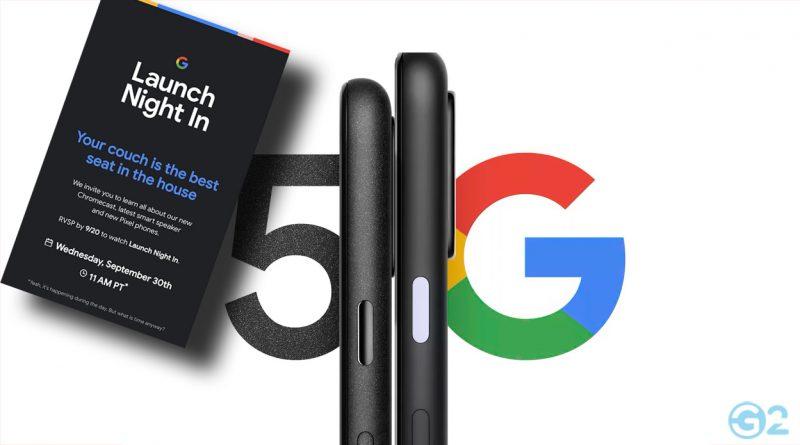 Google Pixel 5 Event
