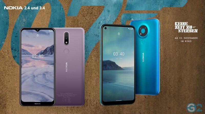 Nokia 2.4 und Nokia 3.4