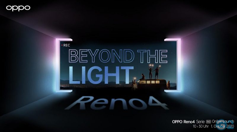 Oppo Reno 4 Serie Einladung