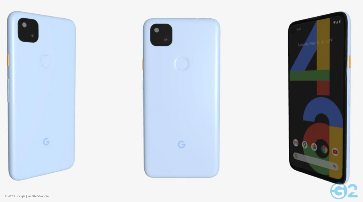 Google Pixel 4a in Blau oder doch Weiß?