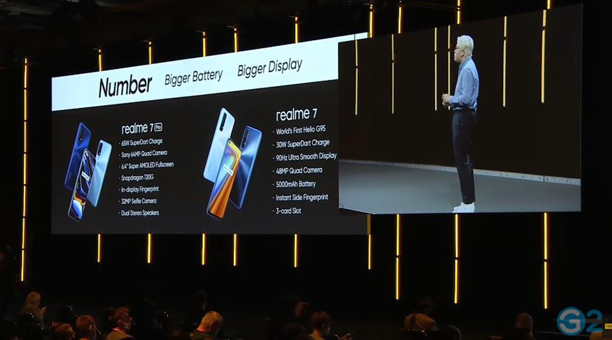 Realme X7 und 7 Pro