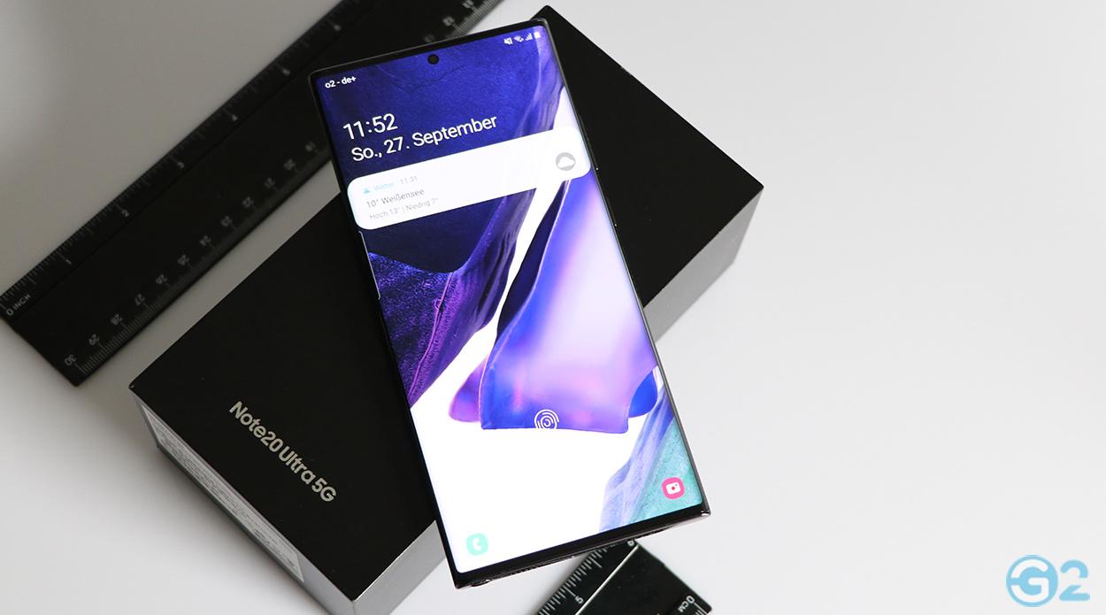 Samsung Galaxy Note 20 Ultra im Test