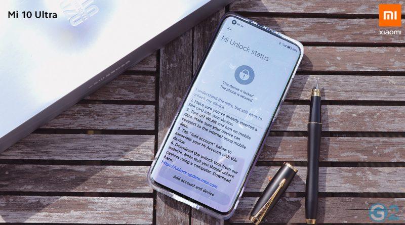Xiaomi Mi 10 Ultra Unlock