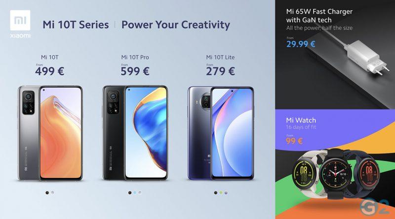 Xiaomi Mi 10T Serie
