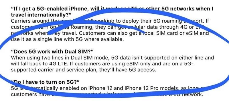 Apple iPhone 12 Besitzer ohne 5G