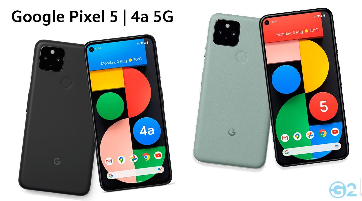 Google Pixel 5 und Pixel 4a 5G