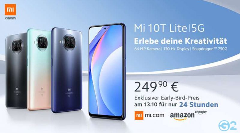 Xiaomi Mi 10T Lite im Flash Sale