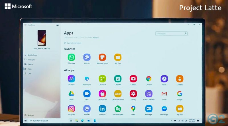 Project Latte: Android Apps auf Windows 10 PC