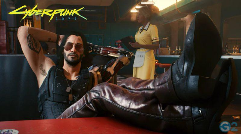Keanu Reeves als Jonny Silverhand in Cyberpunk 2077