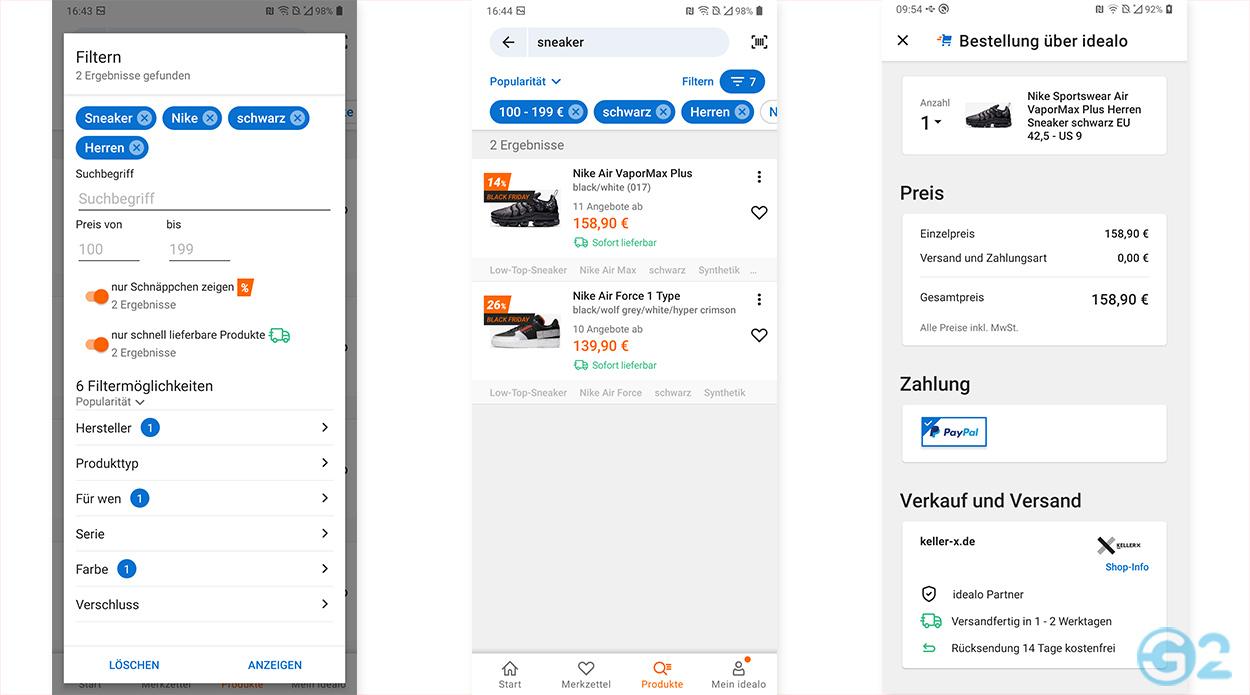 idealo Preisvergleichs-App