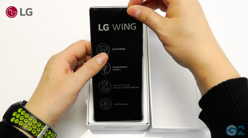 LG Wing Unboxing
