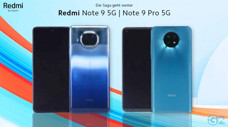 Redmi Note 9 5G Modelle