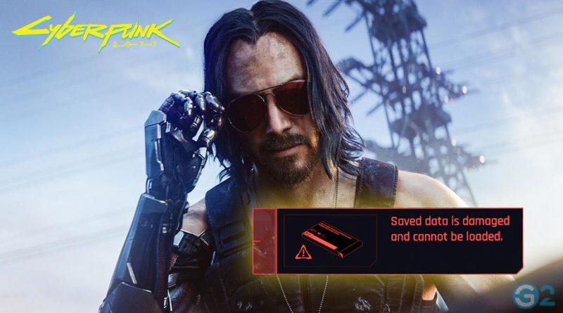 Cyberpunk 2077 Save Game Fehler