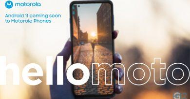 Android 11 für Motorola