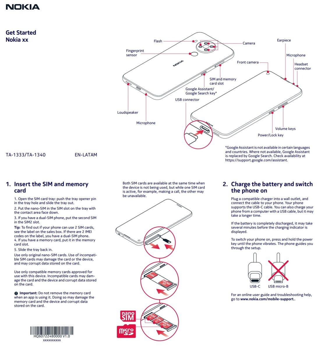 Nokia 5.4 Handbuch