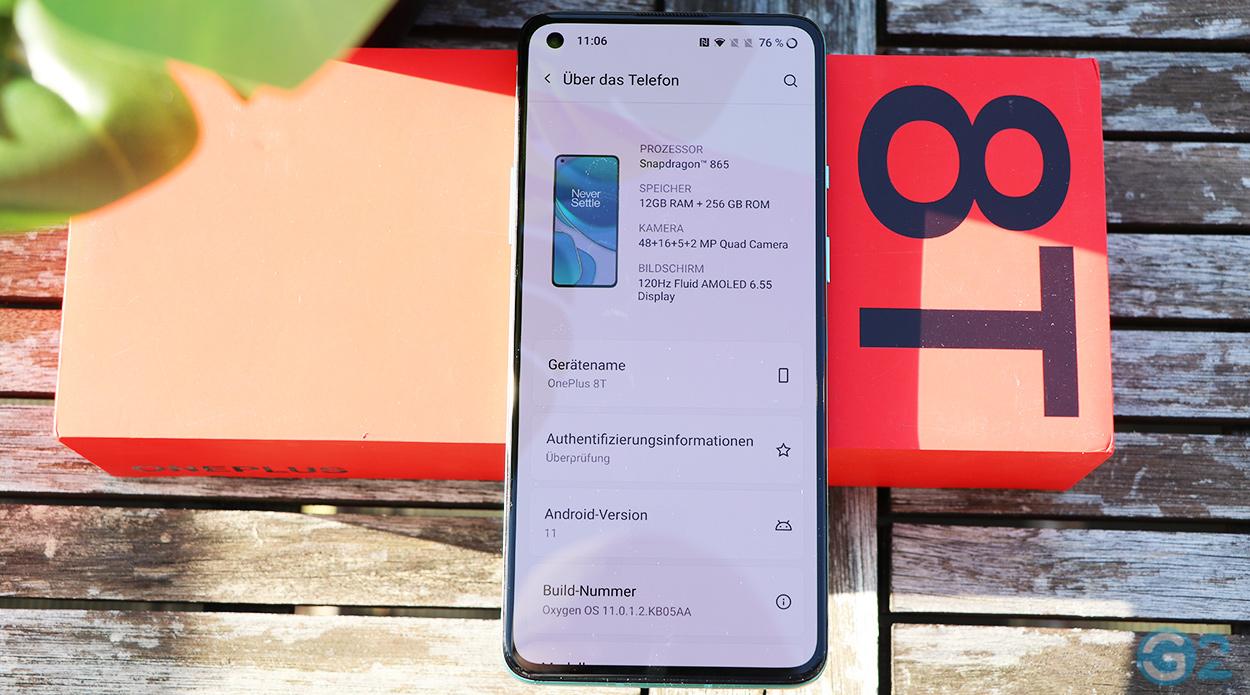 OnePlus 8T im Test