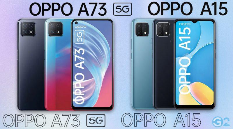 Oppo A73 5G und A15