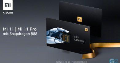Xiaomi Mi 11 und Mi 11 Pro mit Snapdragon 888