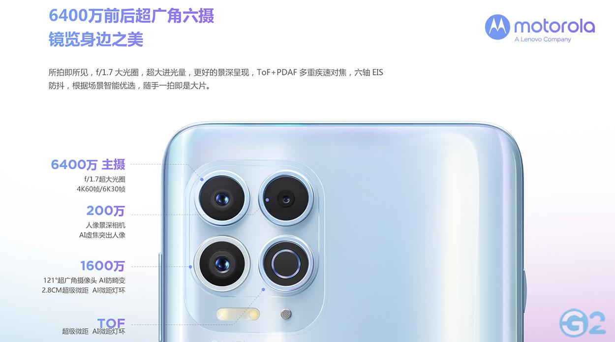 Motorola Edge S Kamera