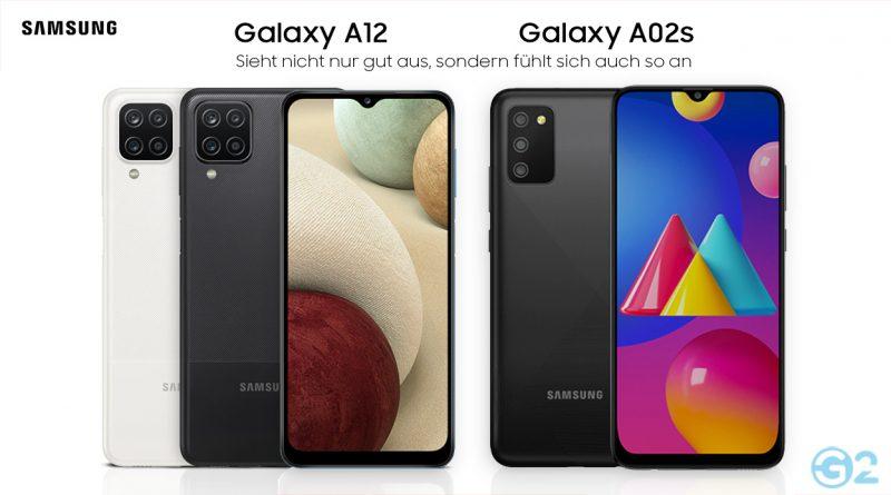 Samsung Galaxy A12 und A02s
