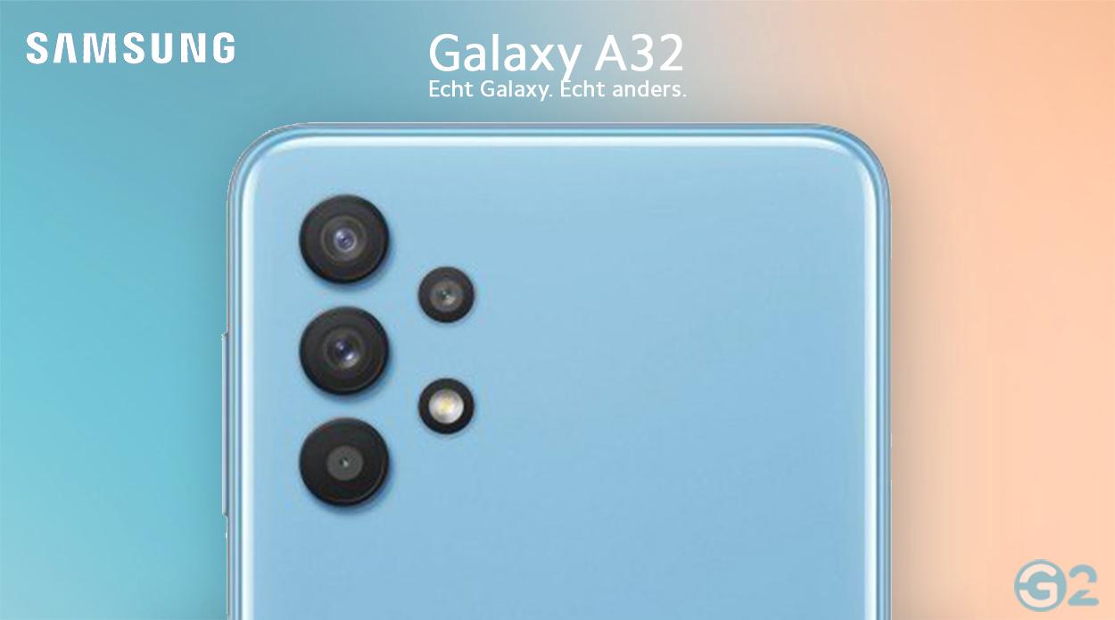 Quad-Kamera des Samsung Galaxy A32