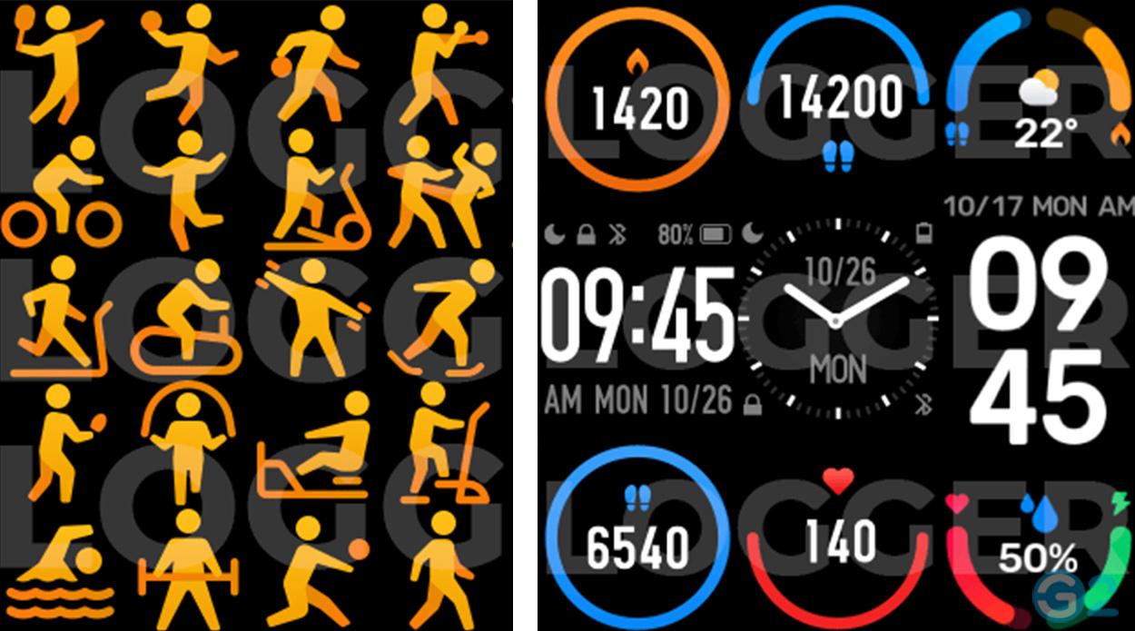 Xiaomi Mi Band 6 Funktionen