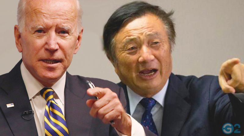 Huawei-CEO Ren Zhengfei und Joe Biden