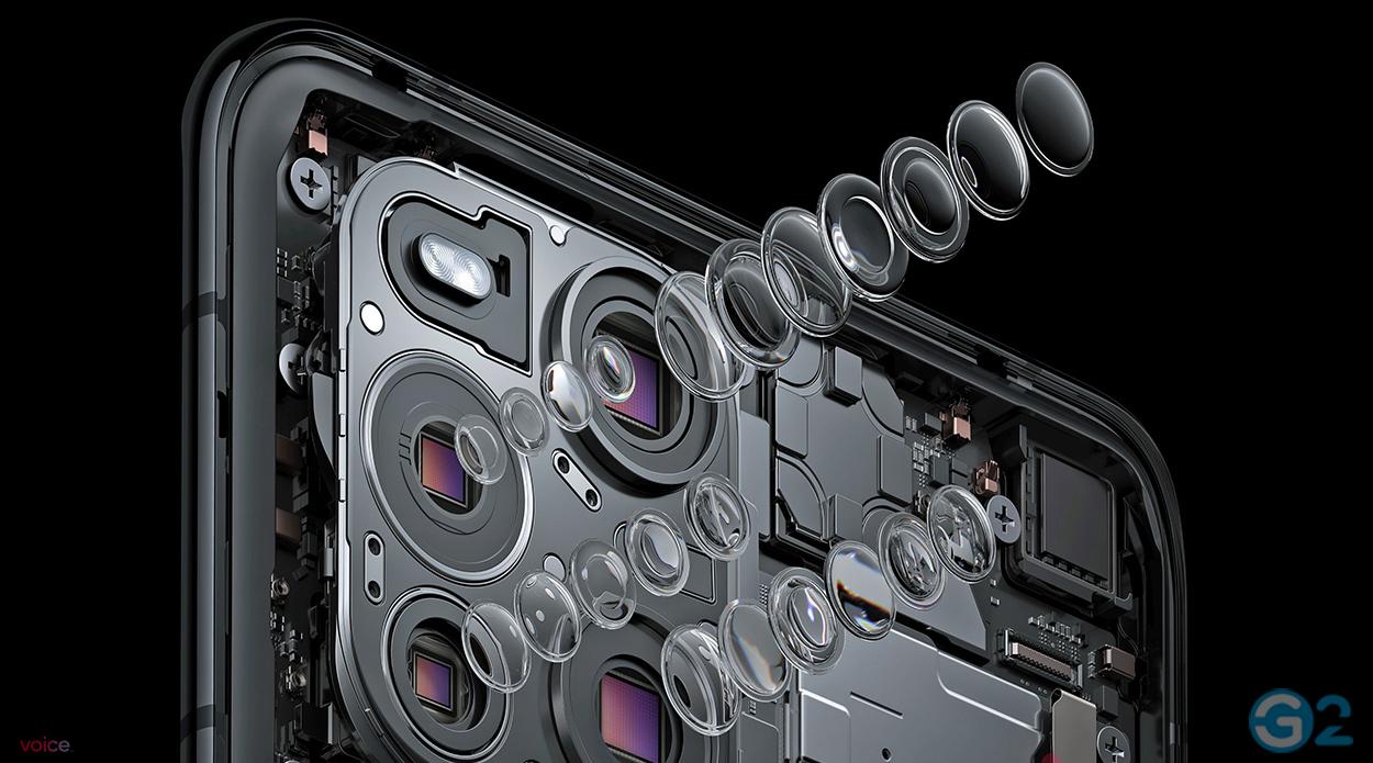Oppo Find X3 Quad-Kamera