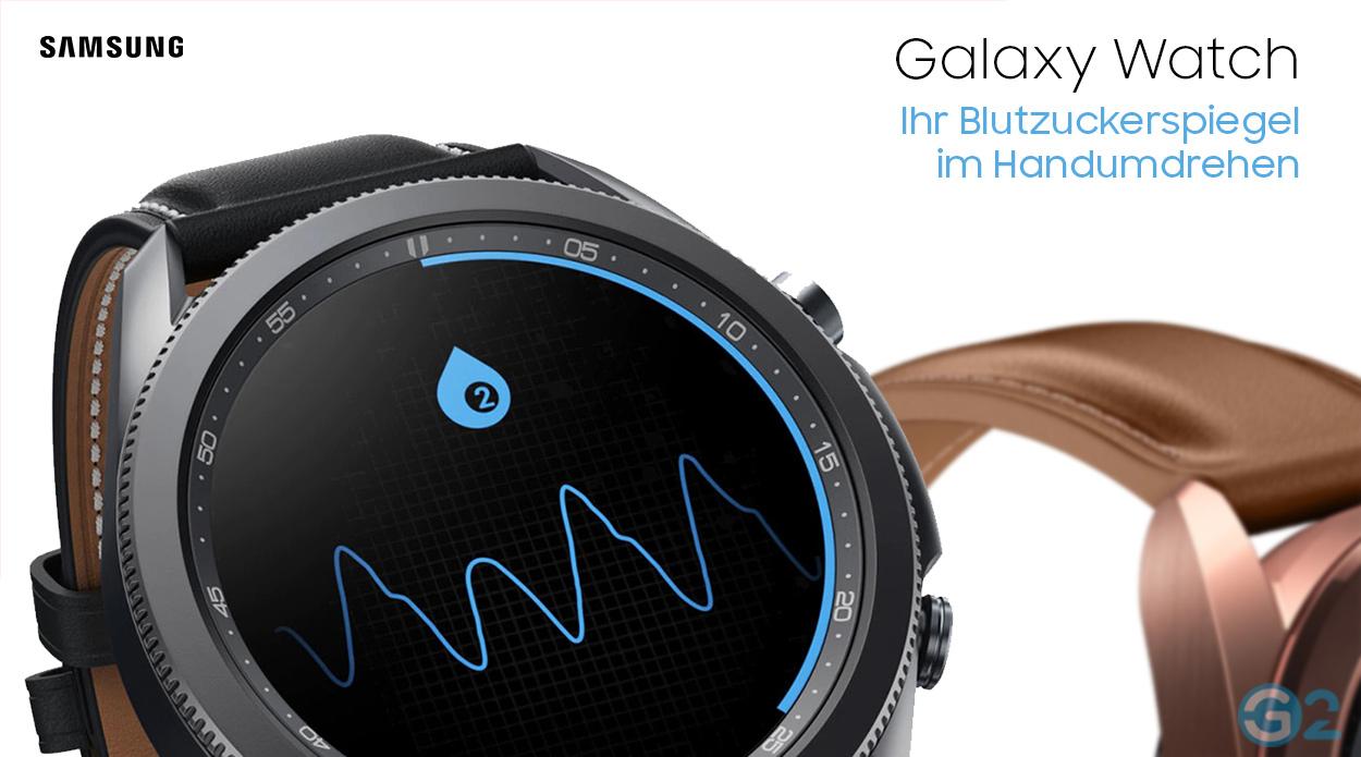 Samsung Galaxy Watch 4 misst Blutzucker
