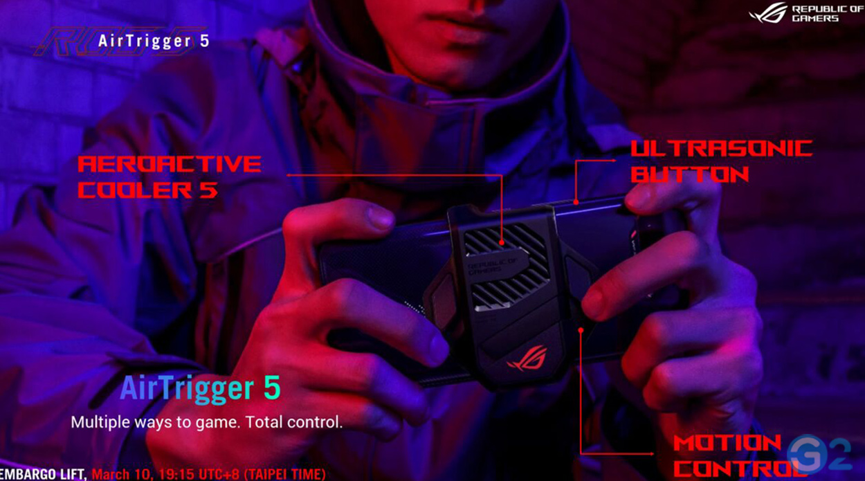 Asus ROG Phone 5 Air-Trigger