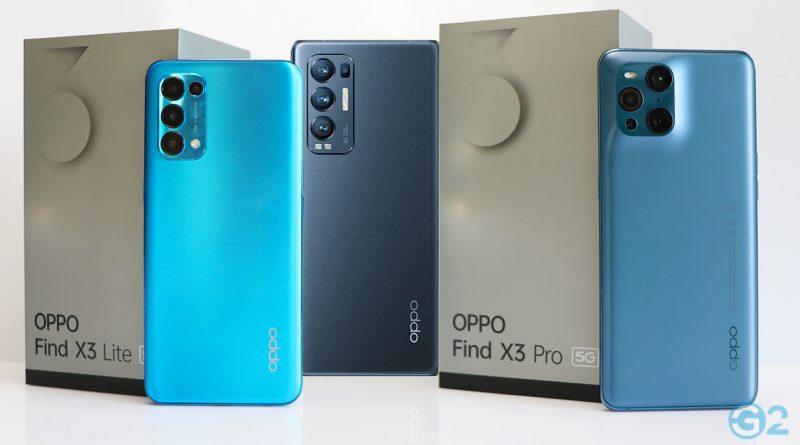 Oppo Find X3-Serie