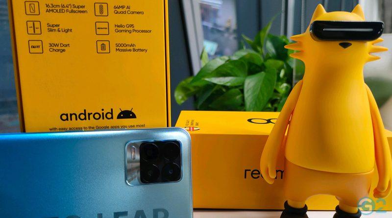 Karton des Realme 8 und Realme 8 Pro
