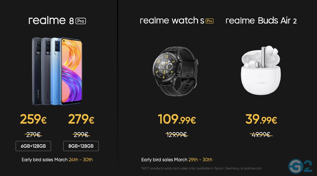 Realme 8 Event