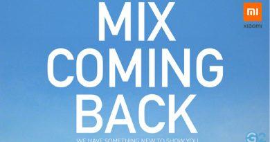 Xiaomi Mi Mix Fold Teaser
