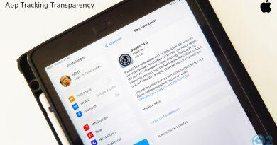 Apple iPad und iOS 14.5 Update