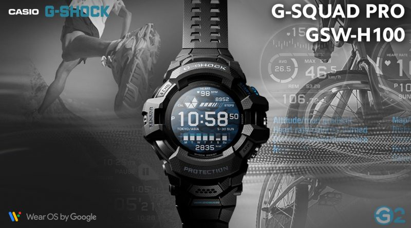 Casio G-Squad Pro with Wear OS by Google