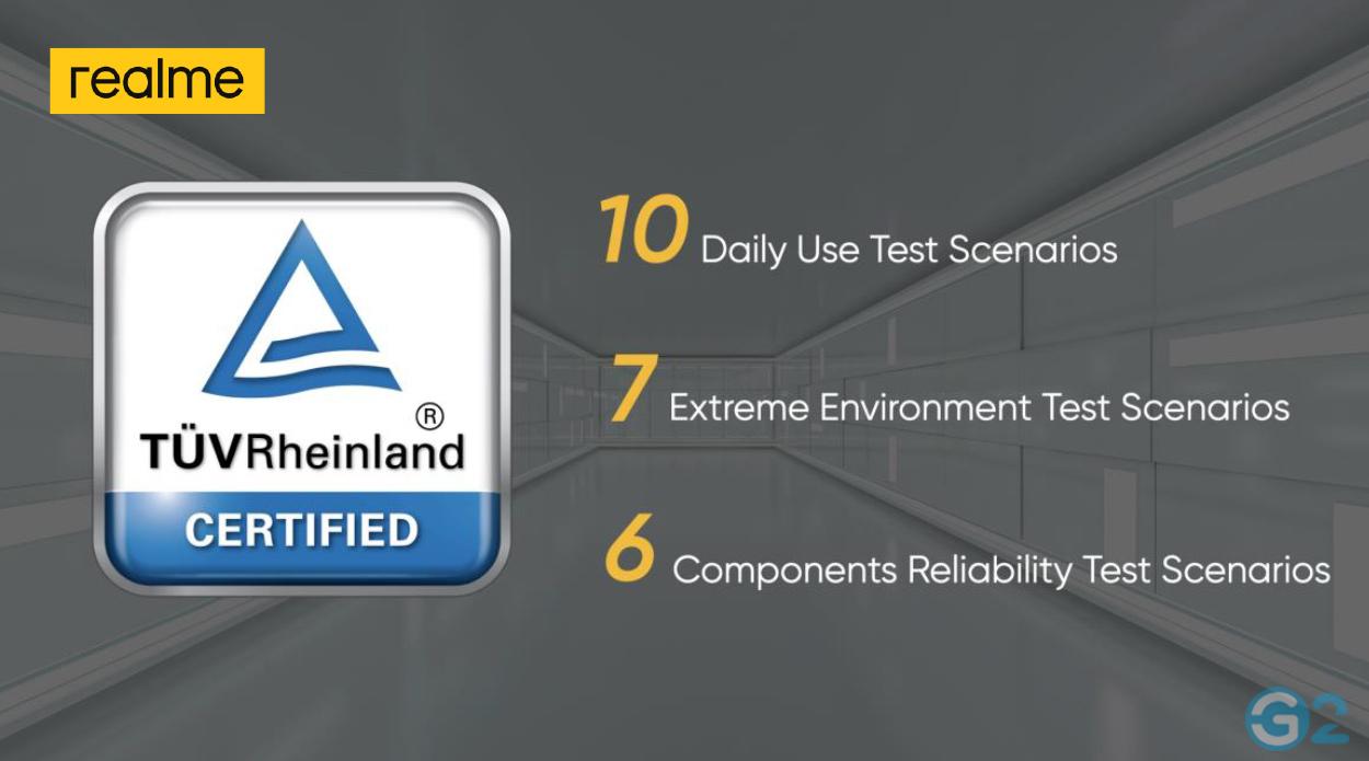 Realme und TÜV Rheinland mit Smartphone-Qualitätsstandard