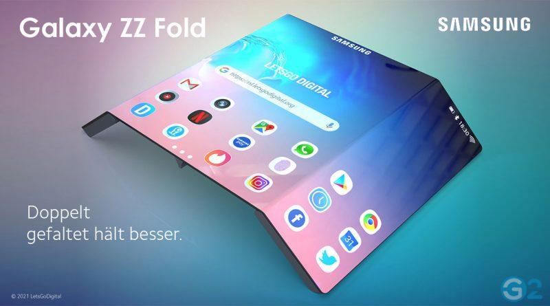 Samsung Galaxy ZZ Fold mit magnetischen S-Pen