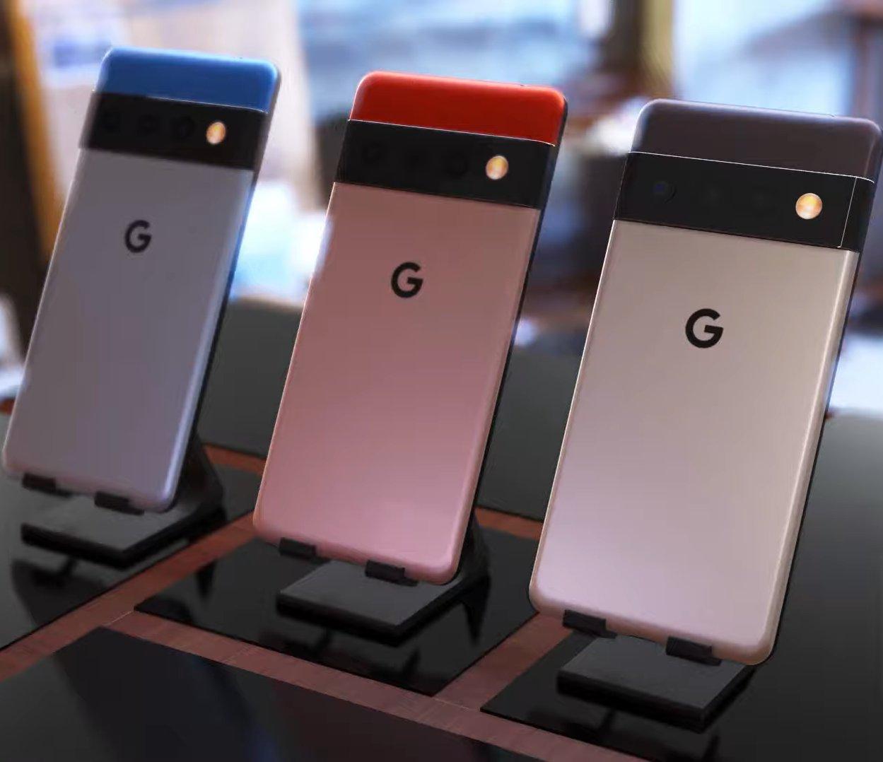 Google Pixel 6 und 6 Pro Leak