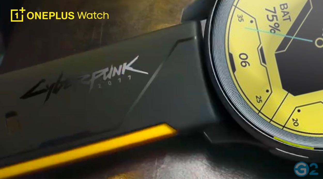 OnePlus Watch in der Cyberpunk 2077 Edition