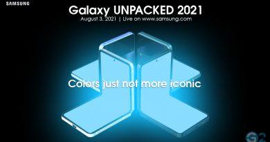 Samsung Galaxy Unpacked Event 2021
