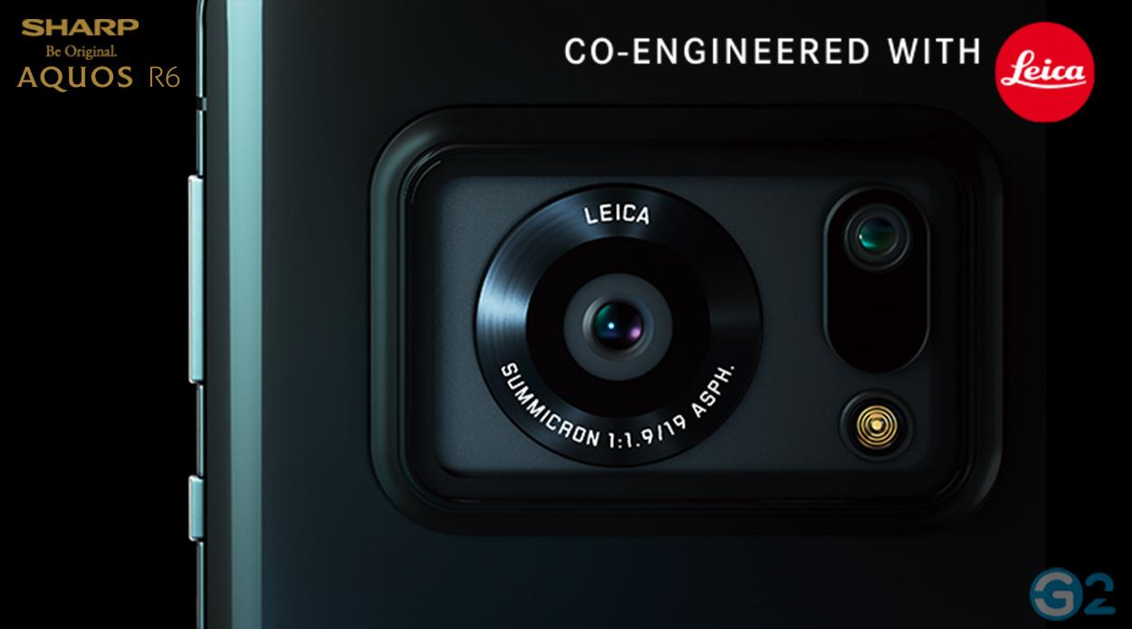 Aharp Aquos R6 Leica-Kamera
