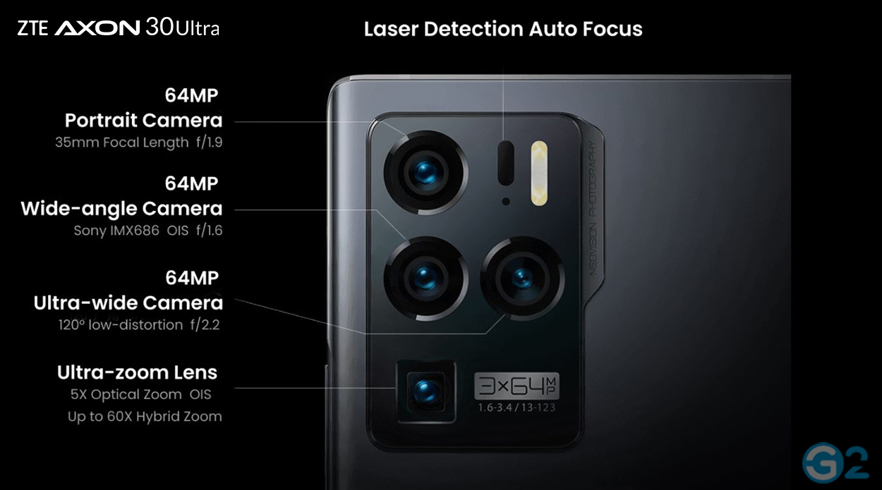 ZTE Axon 30 Ultra Kamera