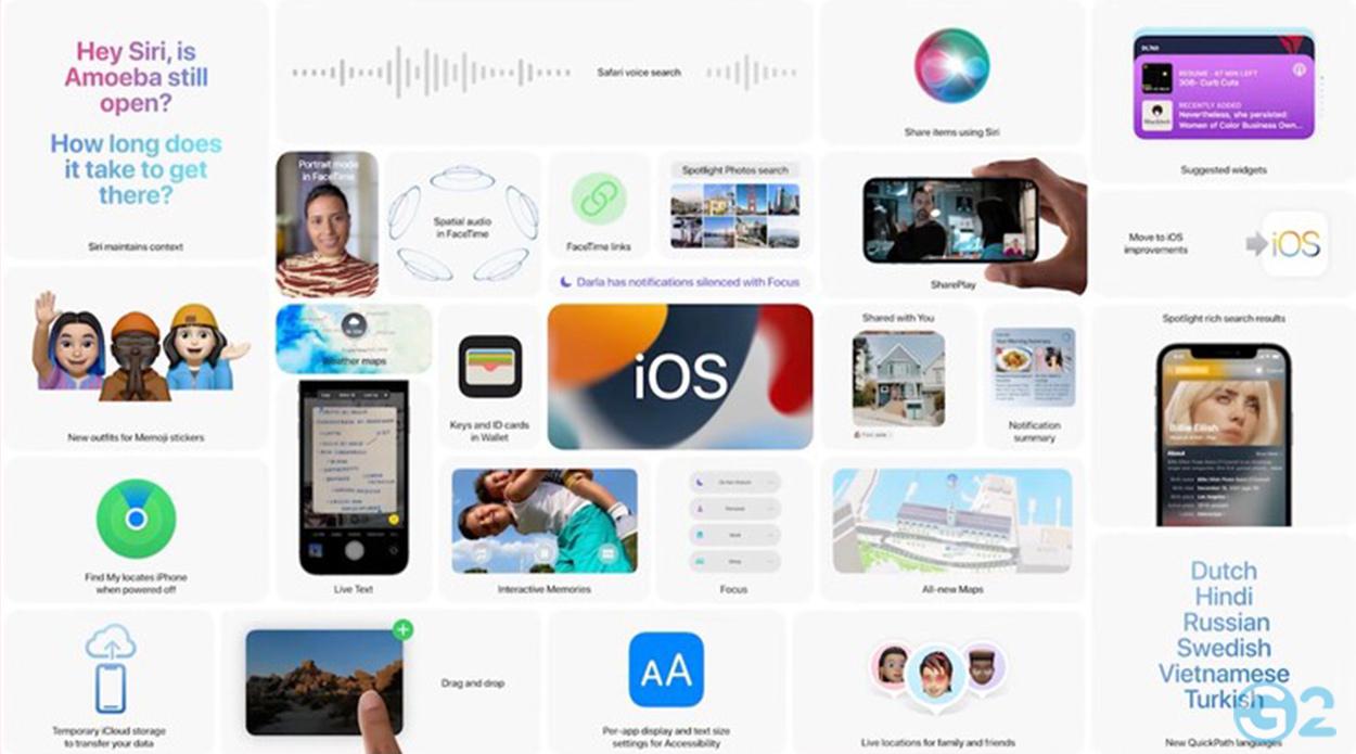 iOS 15 vorgestellt auf der Apple WWDC21