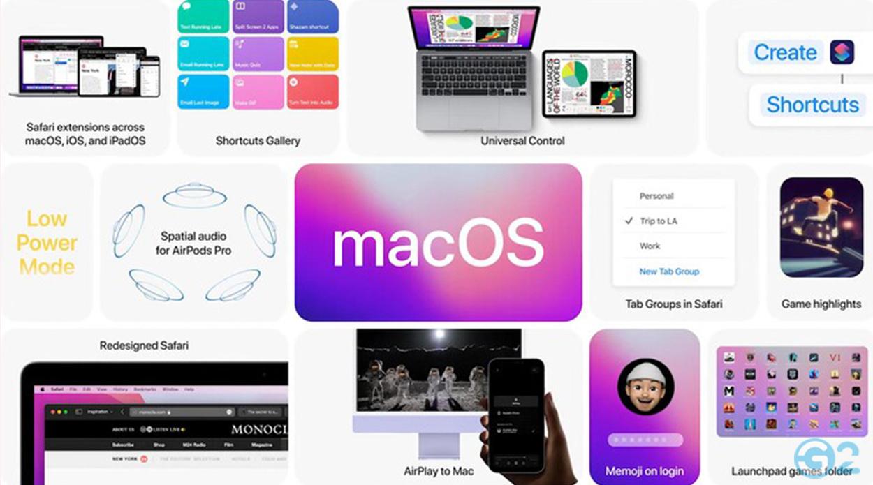 macOS Monterey auf der Apple WWDC21